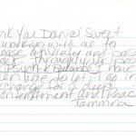 Tammra G - Reviews Testimonial for Daniel Sweet NLP